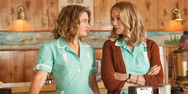 Madchen Amick and Peggy Lipton in Twin Peaks. Photo / Suzanne Tenner