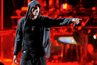Eminem performing at the 2012 Coachella Valley Music and Arts Festival. Photo / AP