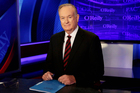 Former host Bill O'Reilly of The O'Reilly Factor on the Fox News Channel. Photo / AP