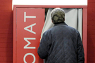 The praying booth has been installed for three months at the Stuttgart Airport. Photo / AP