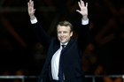 Emmanuel Macron was elected President of France with a business-friendly vision of European integration. Photo / AP