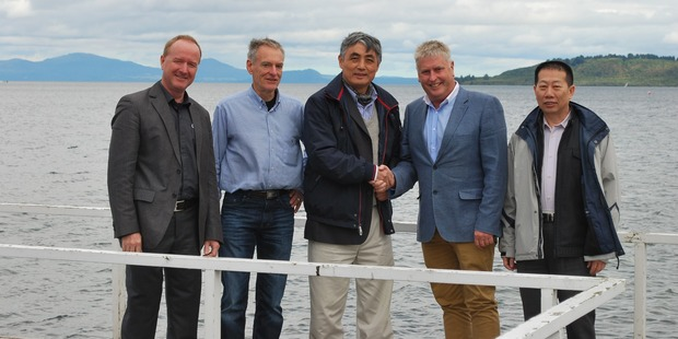 Representatives of Fenglin Group visited Taupō in 2015 to explore the possibility of building a sawmill and wood-processing plant in the area.
