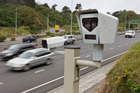 The $10 million project will see up to 56 digital cameras installed across the country in areas with the highest risk of speed-related crashes. Picture / Mark Mitchell