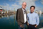 Local MPs Todd Muller (left) and Simon Bridges are pleased with the number of Bay people taking advantage of the HomeStart grant. Photo/file