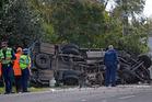 The crash happened on the Te Puke Highway.  Photo / File