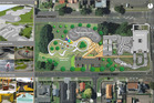 Plans for proposed Rotorua skate park redevelopment.
