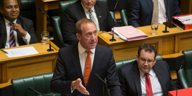Labour leader Andrew Little asked why funding for mental health services had risen far more slowly than demand for services that rocketed by 60 per cent under National. Photo / Mark Mitchell
