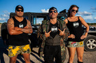 The cast of TV show Bogan Hunters. Photo / Supplied