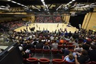 There was a great atmosphere at ASB Arena for the NZ Breakers v Adelaide Bullets pre-season game last September. Photo/File