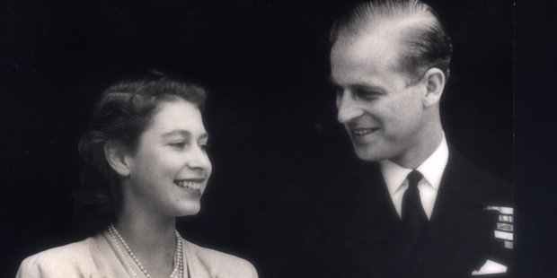 Former naval commander Keith Evans described Prince Philip as being 'very randy' as a young naval officer before his engagement to Princess Elizabeth. Photo / File