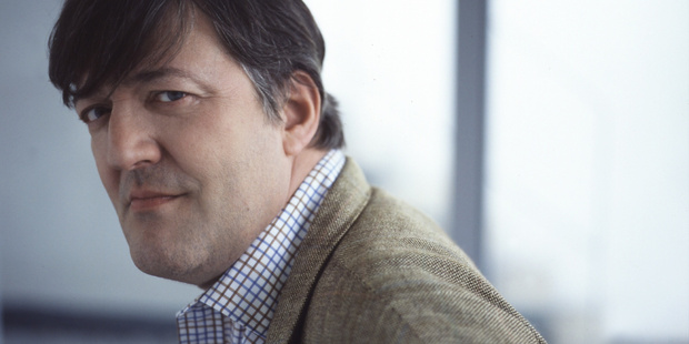 Stephen Fry is reportedly being investigated for blasphemy in Ireland. Photo / Supplied