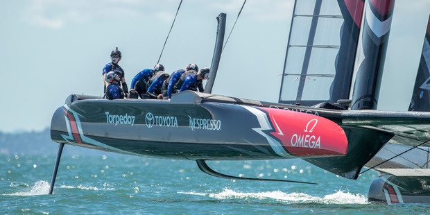 Loading Emirates Team New Zealand have a big couple of weeks of testing coming up. Photo: Hamish Hooper/ETNZ.