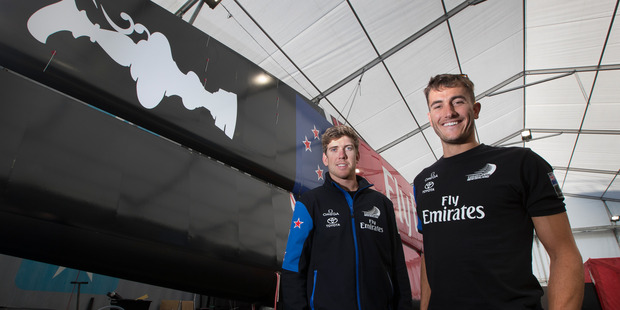 Loading Blair Tuke and Olympic sailing partner Peter Burling will be in key roles on the Team New Zealand boat in the 2017 America's Cup. Photo/Brett Phibbs