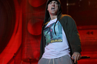 A court is trying to determine if the National Party's use of a version of Eminem song Lose Yourself breached copyright. Photo/File