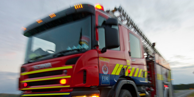 The Fire Service and St John are at the scene of the crash in Northland. Photo / File