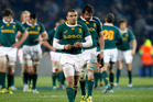 Bryan Habana - worried about All Blacks and Italy. Photo / NZPA