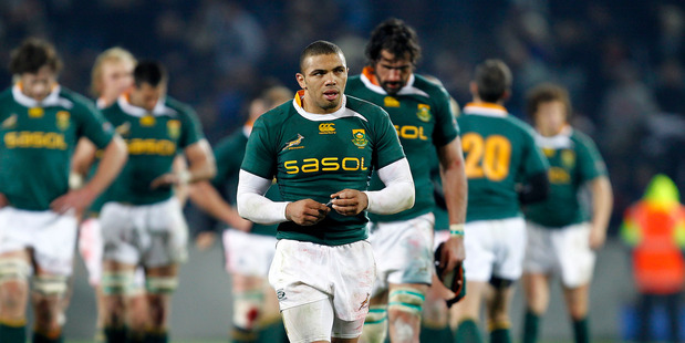 Loading Bryan Habana - worried about All Blacks and Italy. Photo / NZPA