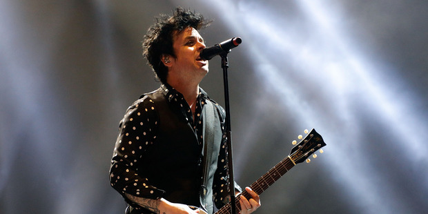 Green Day perform the first of a two-night stand at Spark Arena. Photo / Taylor Hill/WireImage