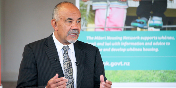 Minister for Maori Development and Maori Party co-leader Te Ururoa Flavell announced a $27 million housing and marae package at Waipatu Marae in Hastings. Photo/Warren Buckland