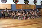 Kaitaia College haka team, Te Kahui Haka o Te Puawaitanga. will long remember the Tai Tokerau Festival of 2017. Photo/Kirsty Saxon.