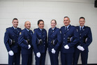 Six new officers will hit the beat in northlnad this montha . they are from left Liam Keys, Bevan Tekaha Hati, Stacee Robson, Philippa Turner, Kenny Rodger and Kristoffer McClure.PHOTO/Supplied