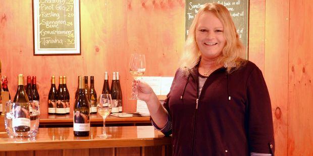 New owner of Ohinemuri winery, Chantelle Wheaton. Photo / Melanie Camoin