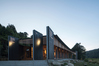 Tennent+Brown Architects'  Te Wharehou o Waikaremoana, the new visitor centre and administration building rests comfortably into the natural beauty of Lake Waikaremoana, says judges, and is a testament to the architect's relationship with Ngāi Tūhoe, judges said.