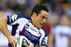 Cooper Cronk in action against the Warriors. Photosport