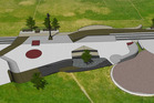 The design for the new skatepark in Te Puke. Image/supplied