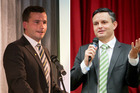 David Seymour and James Shaw are renting.