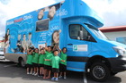 A mobile dental clinic will soon join this mobile ear clinic serving schools and early childhood centres in the Waitemata District Health Board area. Photo/Supplied