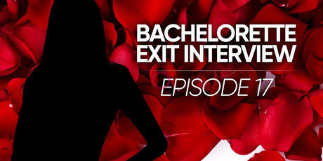 An exit interview for episode 17 of The Bachelor was available for viewing on the Three Now app.