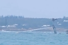 Oracle has suffered another spectacular capsize while training for the upcoming America's Cup in Bermuda Video/MyislandhomeBDA