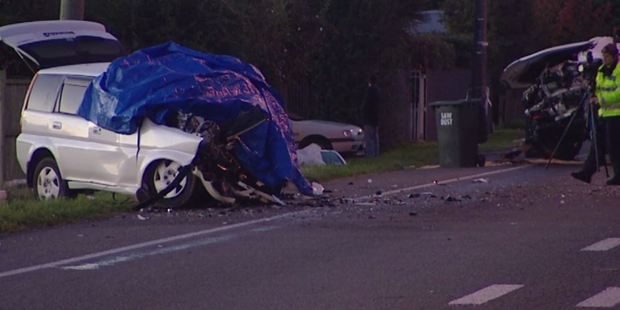 Loading Police and emergency services were called around 3.45pm after two cars collided on State Highway 1.
