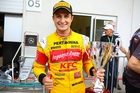Mitch Evans (NZL) of Campos Racing wins the feature race in Round 4 of the GP2 motor racing series in Austria. Photo / Photosport
