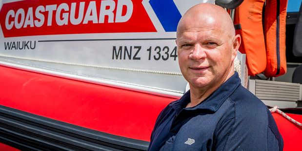 Ray Burge, from Coastguard Northern Region, has received a Gold Award in this year's NZ Search and Rescue Awards. Photo / Supplied