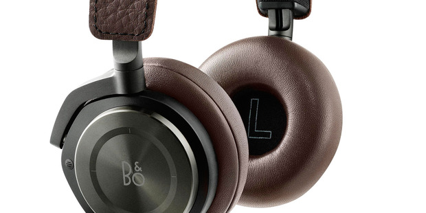 The B&O BeoPlay H8 wireless, noise-cancelling, on-ear headphones.
