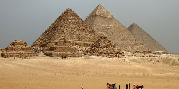 Get to Egypt quickly if you'd like to have the pyramids all to yourself. Photo / 123RF