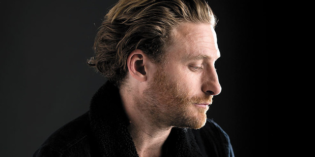 """Dean O'Gorman says that as he gets older, he finds himself giving 'less f**ks"""" about life. Photo/Dean Purcell"""
