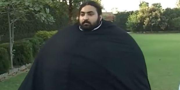 Arbab Khizer Hayat wants to become world famous. Photo / Youtube