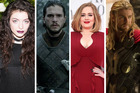 Lorde, Game of Thrones, Adele and Thor are just some of the things we are looking forward to in 2017.