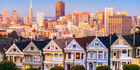 "The vintage ""Painted Ladies"" homes are a delight in San Francisco. Photo / 123RF"
