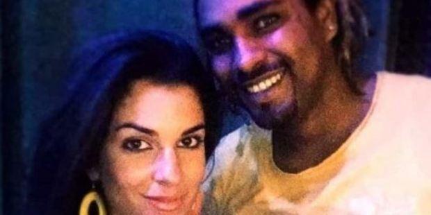 Gessica Notaro's ex-boyfriend, Jorge Edson Tavares (right), was arrested after the alleged acid attack. Photo / Facebook