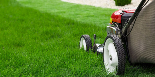 The man suffered a medical event while mowing his lawns. Photo / 123RF