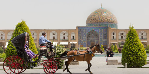 Sheikh Lotfollah Mosque at Naqsh-e Jahan square in Isfahan, Iran. Photo / 123RF