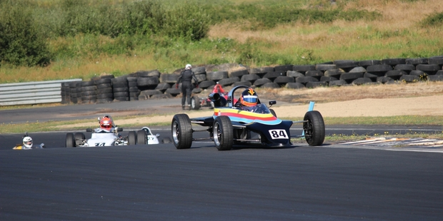 John Pickford's Reynard 84FF will be raced at Hampton Downs this weekend by the car's designer and builder, Adrian Reynard.
