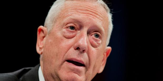 US Defence Secretary-designate, retired Marine General James Mattis. Photo / AP