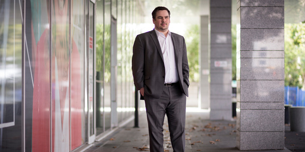 Chris Heaslip, chief executive of business payments company Pushpay. Photo / Dean Purcell