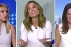 Australian Nine News anchor Amber Sherlock demands her colleague change her outfit after they both wore white