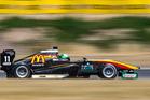 Taylor Cockerton was fast on Friday at Ruapuna. Photo / Matthew Hansen